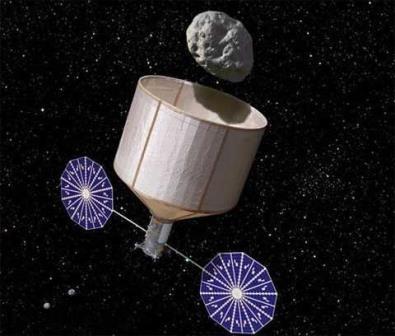 Наса планирует осуществить захват астероида в 2020-х годах