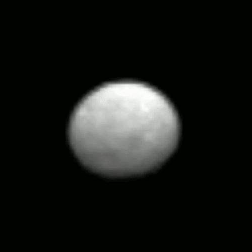 Наса представило новый снимок и анимацию карликовой планеты церера. видео