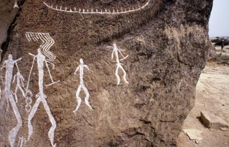Наскальная живопись в европе и азии появилась около 40 тыс. лет назад