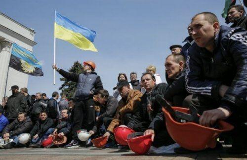 Наукраине десятки шахтеров объявили голодовку, требуя выплаты зарплат - «экономика»