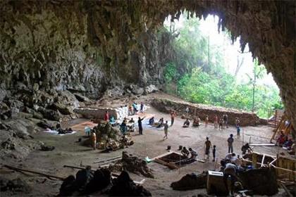 Неизвестную пещеру «хоббитов» нашли в индонезии