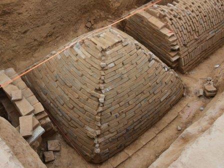 Необычная гробница найдена в китае