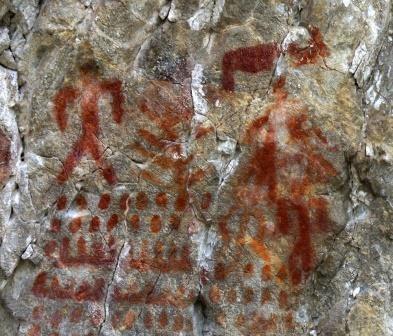 Новосибирские археологи нашли легендарные наскальные рисунки в забайкалье