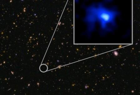 Обнаружена самая далекая галактика