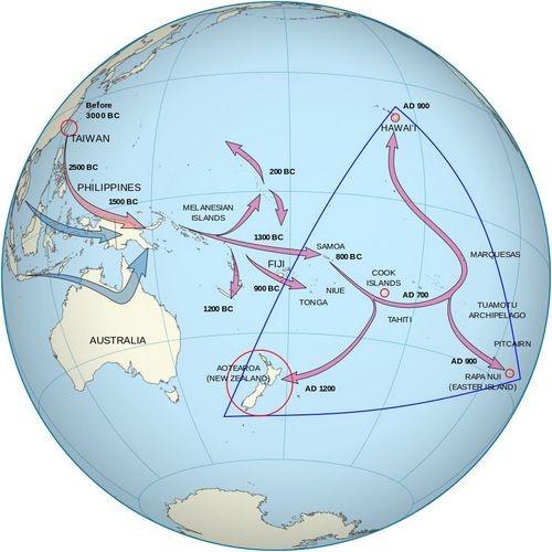 Обнаружено 600-летнее полинезийское каноэ