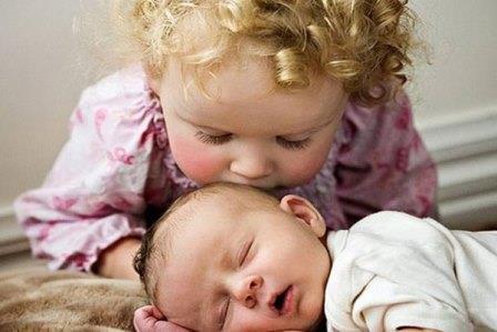 Очерёдность рождения детей влияет на их интеллект и здоровье