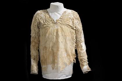 Определен возраст самого древнего в мире платья