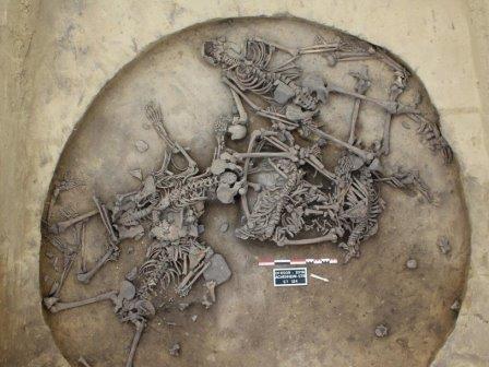 Останки убитых шесть тысячелетий назад людей нашли во франции