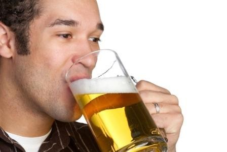 От пива люди умнеют