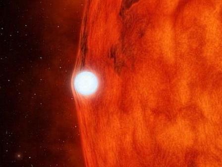 Открыта система двух звёзд, яркость которой возрастает при затмениях