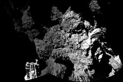 Philae опроверг кометную теорию появления воды на земле