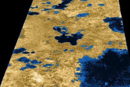 Планетологи изучили озёра на титане