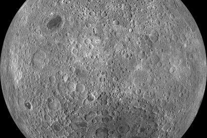 Почему нет морей на обратной стороне луны