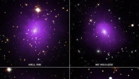 Подолы галактик-«матрешек» рассказали ученым о тайнах темной энергии