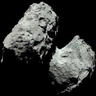 Получены цветные снимки кометы чурюмова-герасименко