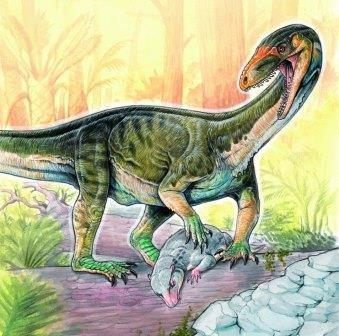 Предка динозавров опустили на четвереньки