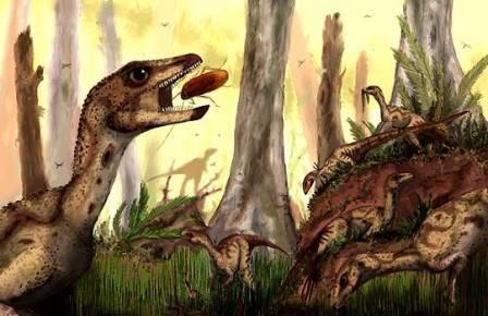 Предок трицератопса бегал на двух ногах