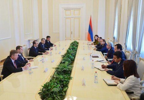 Президент армении: принимаемые eaэс решения должны быть осязаемы для бизнес-среды - «экономика»