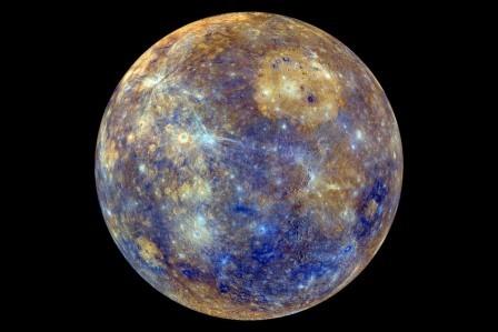 Признаки тектонической активности замечены на меркурии
