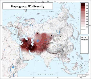 Прочтение y-хромосомы позволило генетически подтвердить легендарных предков