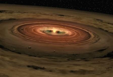Редкая система: полуспутник-полупланета вращается вокруг полупланеты-полузвезды