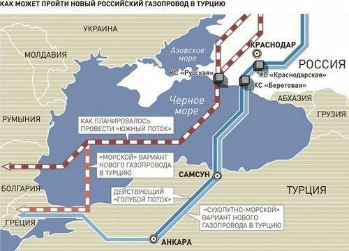 Reuters. брюссель встревожен реабилитацией «турецкого потока» - «энергетика»