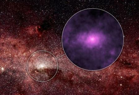 Рядом с черной дырой обнаружены тысячи мертвых звезд