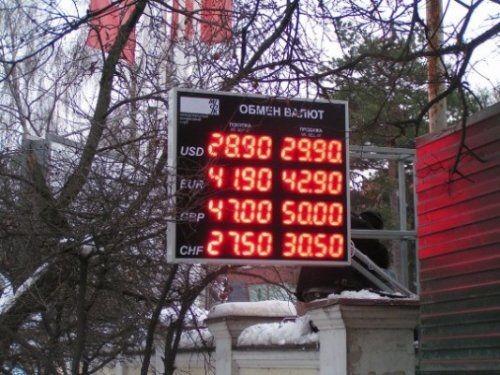 Российским банкам придется избавиться отуличных табло скурсами валют - «экономика»