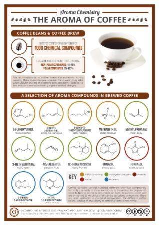 Сахар удаляет горечь кофе на молекулярном уровне