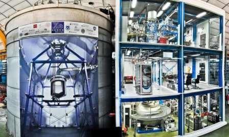 Самый высокочувствительный датчик wimp-частиц эксперимента xenon1t начал выдавать первые научные данные