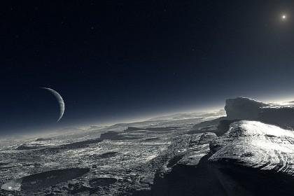 Система плутон-харон имеет связанную атмосферу