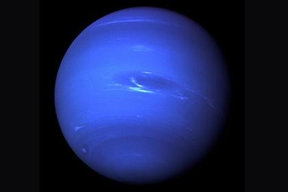 Смоделирован состав льдов нептуна