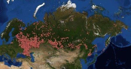 Создана первая электронная карта археологических памятников россии