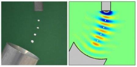 Создано устройство акустической левитации. видео