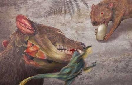 Сумчатые начинали с охоты на динозавров