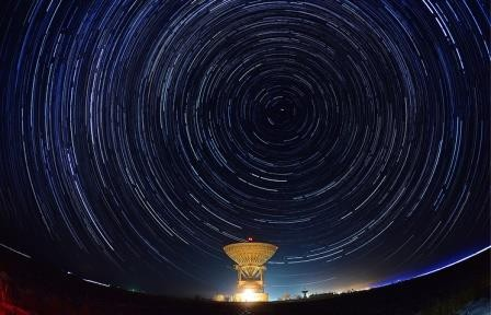 Телескоп казанского университета впервые в истории снял изменение блеска черной дыры