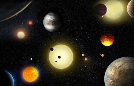 Телескоп «кеплер» обнаружил еще 9 планет, на которых может быть жизнь
