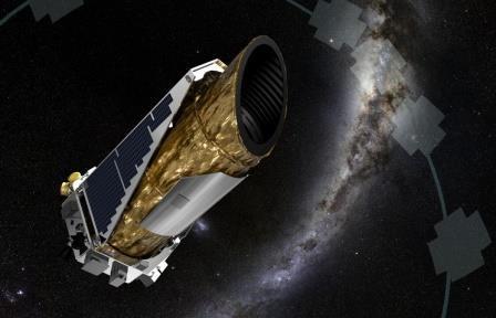 Телескоп «кеплер» впервые зафиксировал вспышку сверхновой звезды в оптическом диапазоне