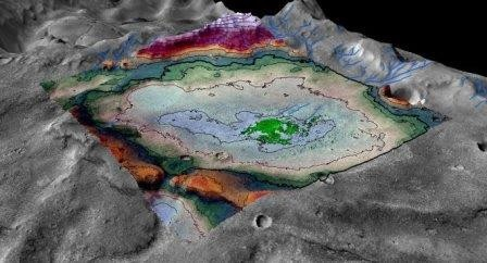 Ученые нашли на марсе следы водного озера