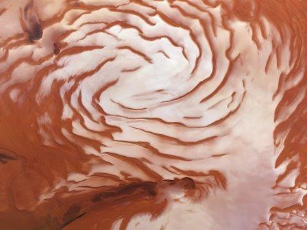 Ученые нашли следы существования ледникового периода на марсе