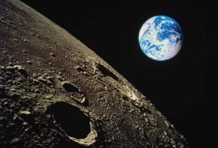 Ученые рассказали о метеоритных бомбардировках луны