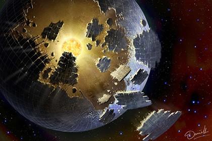 Ученые, возможно, раскрыли тайну загадочной звезды kic 8462852