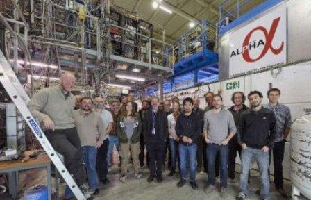 Ученым cern впервые удалось зарегистрировать и измерить параметры энергетических переходов атомов антиводорода
