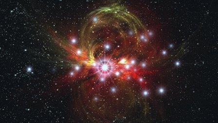 В 2022 году земляне смогут увидеть рождение звезды