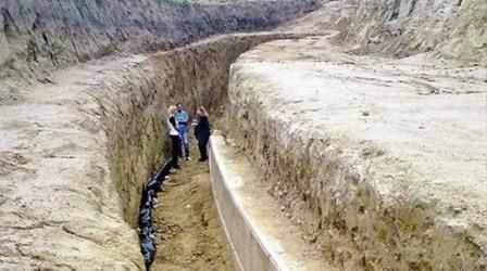В амфиполе найдено царское захоронение