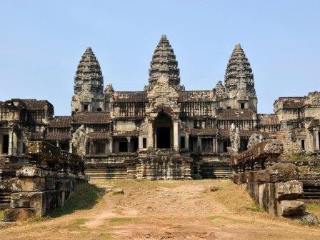 В ангкор-вате обнаружены неизвестные ранее росписи