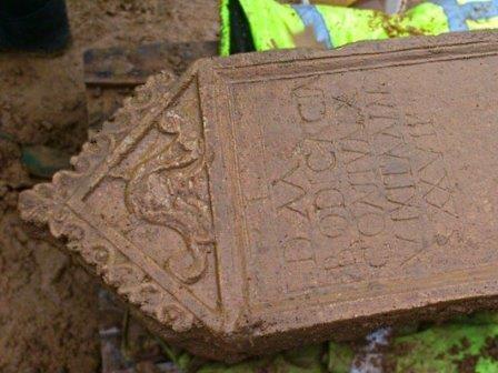 В англии найдено римское надгробие