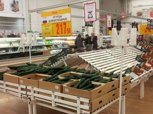 В «ашане» цена на огурцы упала сразу на 42 рубля - «челябинская область»