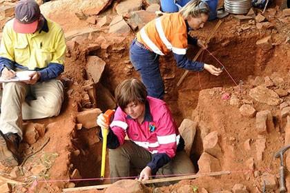 В австралии нашли фрагменты домов ледникового периода