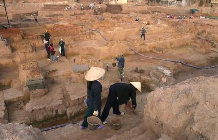 В центральном вьетнаме найдены орудия труда древней цивилизации